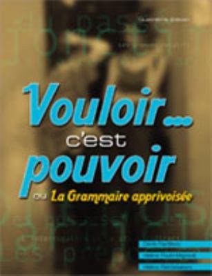 VOULOIR...C'EST POUVOIR >CANAD 4th 2004 edition cover