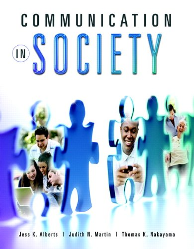 Communication in Society   2011 edition cover