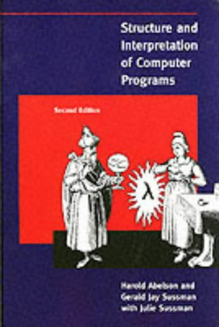 Structure and Interpretation of Computer Programs  2nd 1996 edition cover