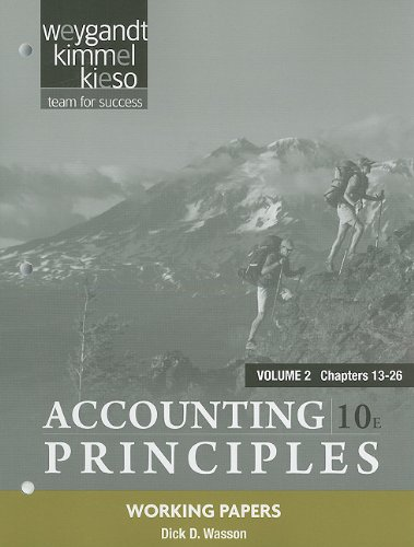 Accounting Principles - Chapters 13-26  10th 2011 edition cover