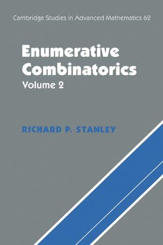 Enumerative Combinatorics   2000 9780521789875 Front Cover
