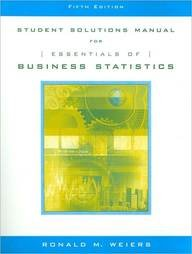 Essentials of Business Statistics  5th 2006 9780534464875 Front Cover