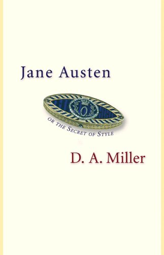 Jane Austen, or the Secret of Style   2005 edition cover