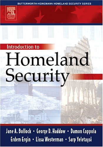 Introduction to Homeland Security   2004 9780750677875 Front Cover