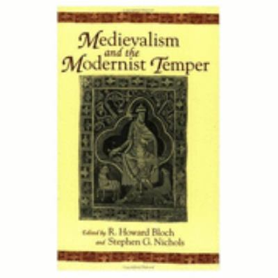Medievalism and the Modernist Temper  1996 edition cover