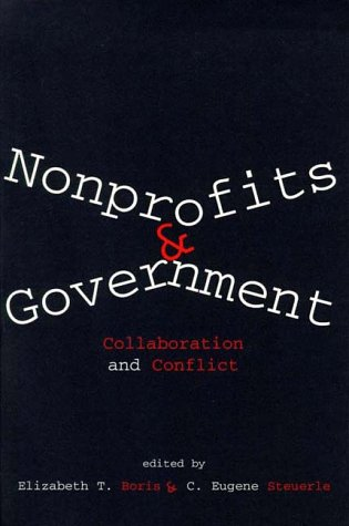 Nonprofits and Government Collaboration and Conflict N/A edition cover