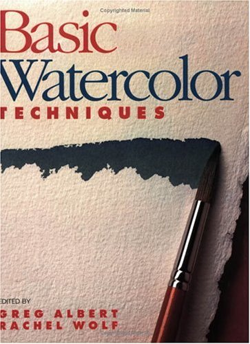 Basic Watercolor Techniques   1991 edition cover