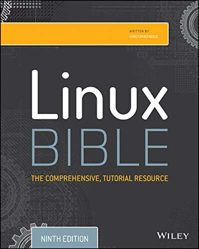 Linux Bible  9th 2015 edition cover