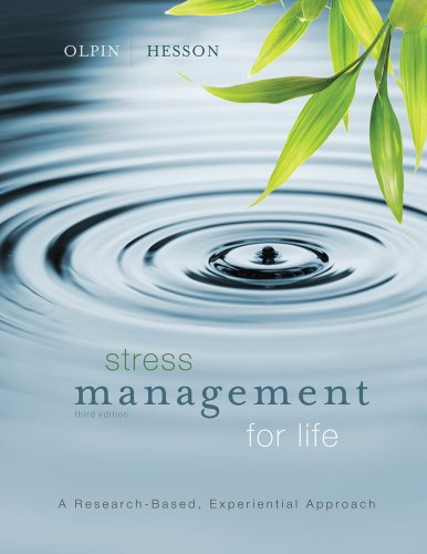 STRESS MGMT.FOR LIFE-W/ACCESS N/A 9781133299875 Front Cover