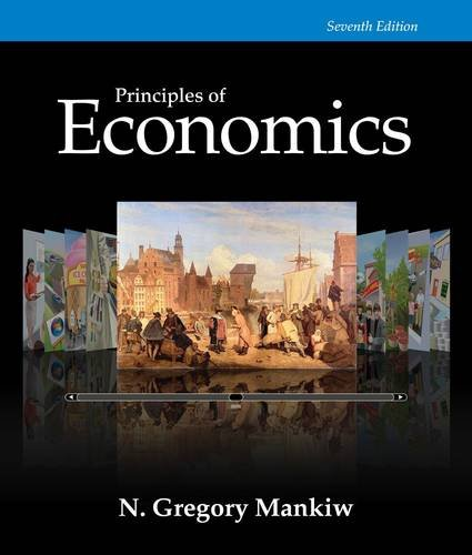 Principles of Economics:   2014 9781285165875 Front Cover