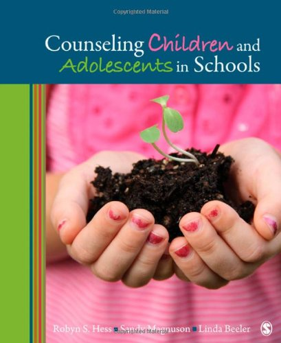 Counseling Children and Adolescents in Schools   2012 edition cover