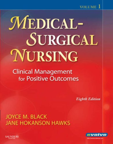 Medical-Surgical Nursing Clinical Management for Positive Outcomes 8th 2008 edition cover