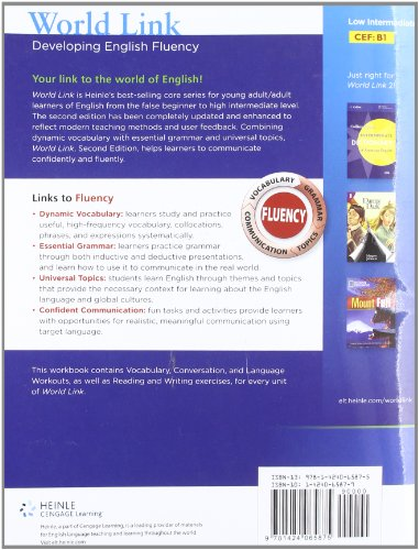 World Link 2 Developing English Fluency 2nd 2011 edition cover