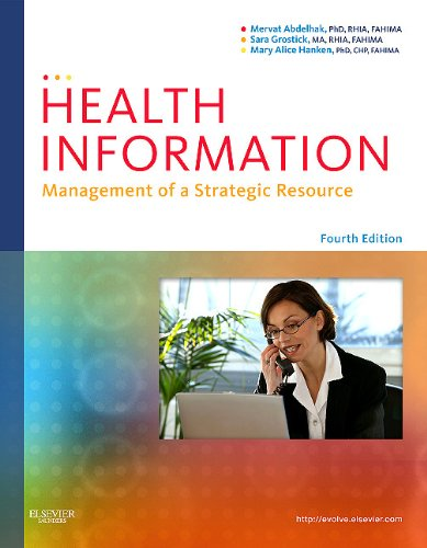 Health Information Management of a Strategic Resource 4th 2011 edition cover