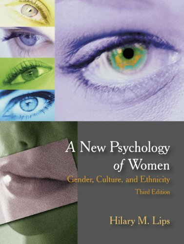 New Psychology of Women Gender, Culture, and Ethnicity 3rd edition cover
