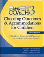 Choosing Outcomes and Accommodations for Children A Guide to Educational Planning for Students with Disabilities 3rd 2011 edition cover