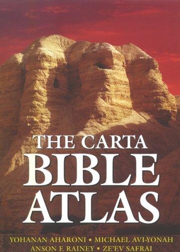 Carta Bible Atlas 4th 2002 edition cover