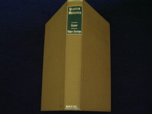 Quantum Mechanics 3rd 1968 9780070552876 Front Cover