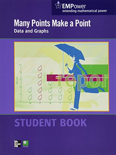 Many Points Make a Point - Data and Graphs   2012 9780076620876 Front Cover