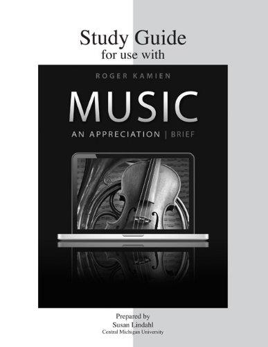 Music An Appreciation 7th 2011 edition cover