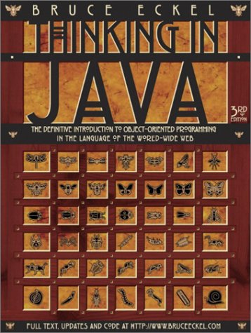 Thinking in Java  3rd 2003 (Revised) edition cover