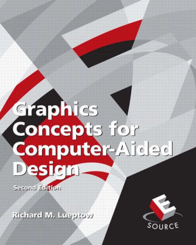 Graphics Concepts for Computer-Aided Design  2nd 2008 edition cover