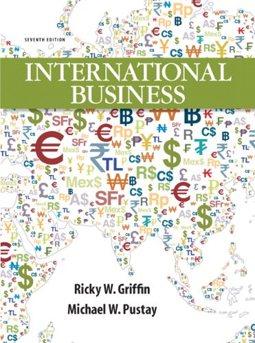 International Business  7th 2013 (Revised) edition cover