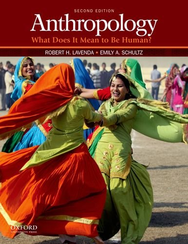 Anthropology What Does It Mean to Be Human? 2nd 2012 edition cover