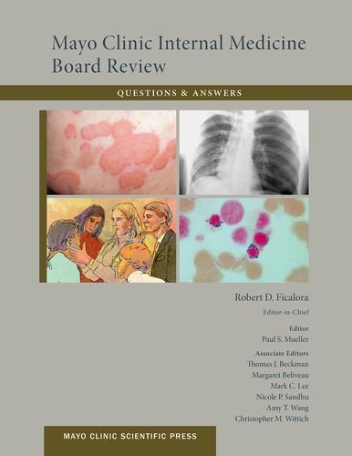 Mayo Clinic Internal Medicine Board Review  10th 2013 edition cover
