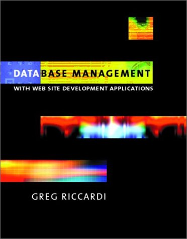 Database Management With Website Development Applications  2003 edition cover