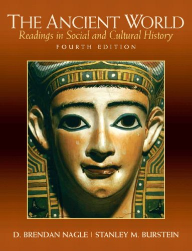 Ancient World Readings in Social and Cultural History 4th 2010 edition cover