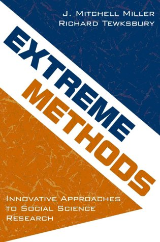 Extreme Methods Innovative Approaches to Social Science Research  2001 edition cover
