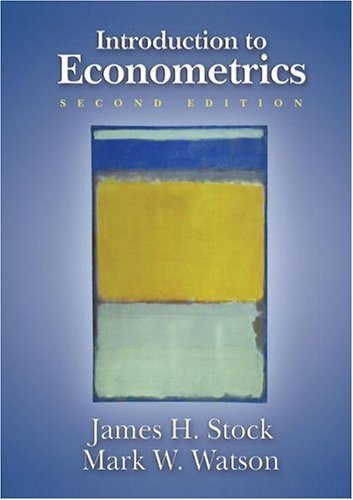 Introduction to Econometrics  2nd 2007 (Revised) edition cover