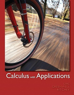 Books a la Carte Edition for Calculus with Applications  10th 2012 edition cover