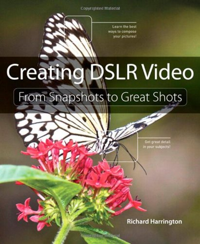 Creating Dslr Video From Snapshots to Great Shots  2012 9780321814876 Front Cover