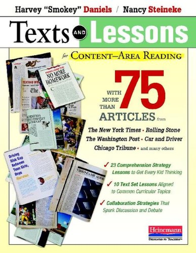 Texts and Lessons for Content-Area Reading With More Than 75 Articles from the New York Times, Rolling Stone, the Washington Post, Car and Driver, Chicago Tribune, and Many Others  2011 edition cover