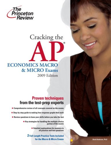 Cracking the AP Economics Macro and Micro Exams 2009  N/A 9780375428876 Front Cover