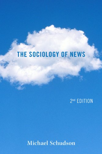 Sociology of News  2nd 2012 edition cover