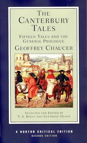 Canterbury Tales Fifteen Tales and the General Prologue 2nd 2005 (Revised) edition cover