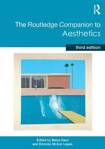 Routledge Companion to Aesthetics  3rd 2013 (Revised) edition cover