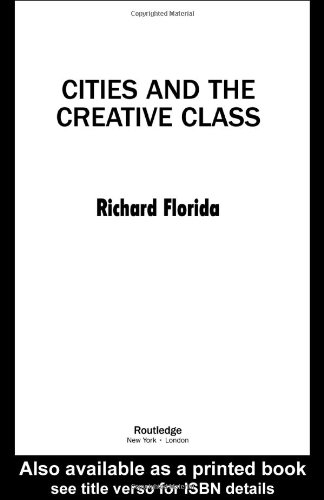 Cities and the Creative Class   2005 edition cover