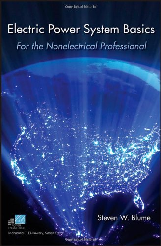 Electric Power System Basics For the Nonelectrical Professional  2007 edition cover
