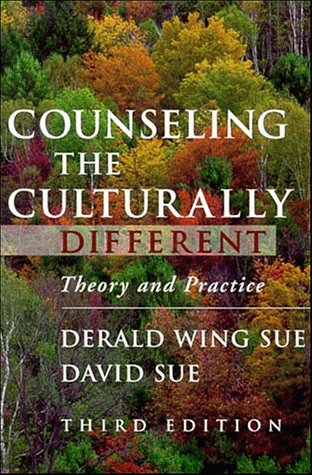 Counseling the Culturally Different Theory and Practice 3rd 1999 edition cover