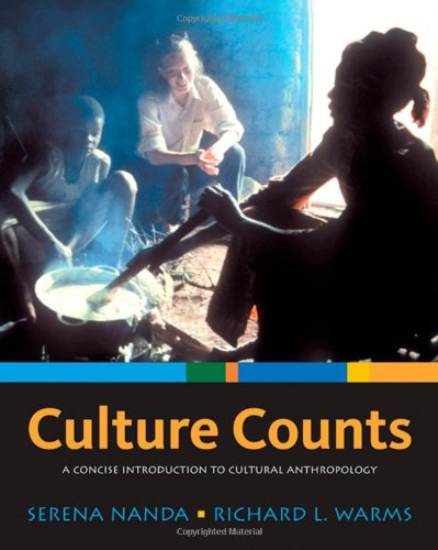 Culture Counts A Concise Introduction to Cultural Anthropology  2009 edition cover