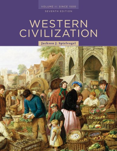 Western Civilization Since 1500 7th 2009 9780495502876 Front Cover