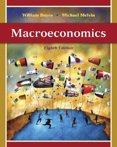Macroeconomics  8th 2011 (Student Manual, Study Guide, etc.) 9780538753876 Front Cover
