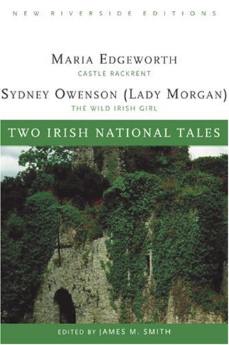 Two Irish National Tales Castle Rackrent, the Wild Irish Girl  2005 9780618084876 Front Cover