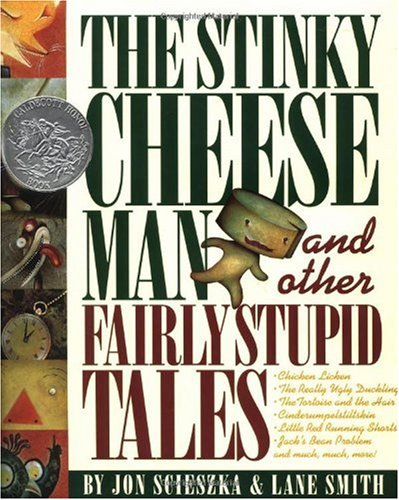 Stinky Cheese Man and Other Fairly Stupid Tales   1992 edition cover