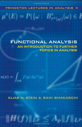 Functional Analysis Introduction to Further Topics in Analysis  2012 edition cover