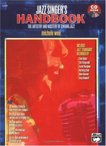 Jazz Singer's Handbook Book and CD  2005 edition cover